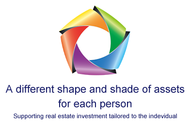 A different shape and shade of assets for each person. Supporting real estate investment tailored to the individual.